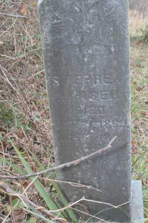 NIHISER, STEPHEN - Hocking County, Ohio | STEPHEN NIHISER - Ohio Gravestone Photos