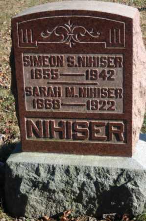 HOWDYSHELL NIHISER, SARAH MATILDA - Hocking County, Ohio | SARAH MATILDA HOWDYSHELL NIHISER - Ohio Gravestone Photos