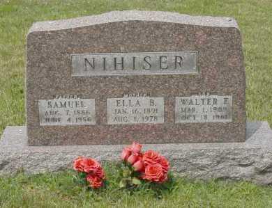 NIHISER, ELLA B. - Hocking County, Ohio | ELLA B. NIHISER - Ohio Gravestone Photos