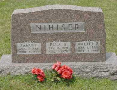 NIHISER, SAMUEL - Hocking County, Ohio | SAMUEL NIHISER - Ohio Gravestone Photos