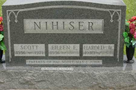 NIHISER, EILEEN E - Hocking County, Ohio   EILEEN E NIHISER - Ohio Gravestone Photos