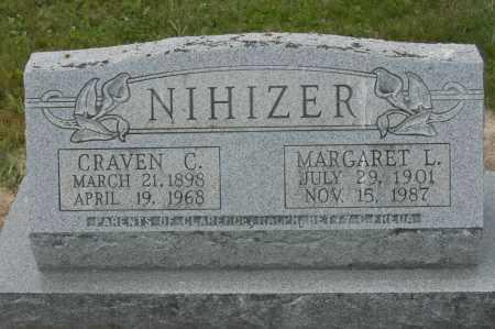 NIHIZER, MARGARET L. - Hocking County, Ohio | MARGARET L. NIHIZER - Ohio Gravestone Photos