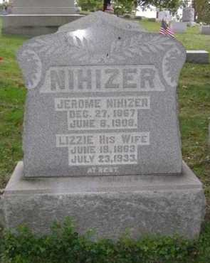 NIHIZER, JEROME - Hocking County, Ohio | JEROME NIHIZER - Ohio Gravestone Photos