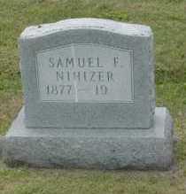 NIHIZER, SAMUEL F. - Hocking County, Ohio   SAMUEL F. NIHIZER - Ohio Gravestone Photos
