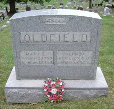 OLDFIELD, MARY E. - Hocking County, Ohio | MARY E. OLDFIELD - Ohio Gravestone Photos