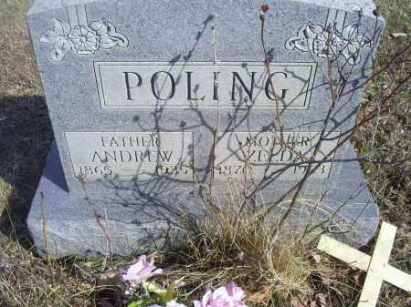 POLING, ANDREW - Hocking County, Ohio | ANDREW POLING - Ohio Gravestone Photos
