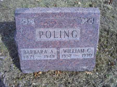 POLING, WILLIAM C. - Hocking County, Ohio | WILLIAM C. POLING - Ohio Gravestone Photos
