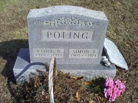 POLING, SIMON T. - Hocking County, Ohio | SIMON T. POLING - Ohio Gravestone Photos