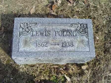 POLING, LEWIS - Hocking County, Ohio | LEWIS POLING - Ohio Gravestone Photos