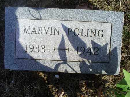 POLING, MARVIN - Hocking County, Ohio   MARVIN POLING - Ohio Gravestone Photos