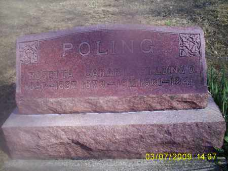 POLING, FIELDING D. - Hocking County, Ohio | FIELDING D. POLING - Ohio Gravestone Photos
