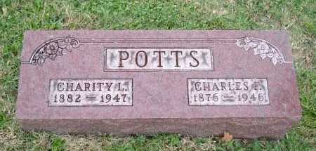 POTTS, CHARITY L. - Hocking County, Ohio | CHARITY L. POTTS - Ohio Gravestone Photos