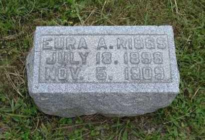 RIGGS, EURA A. - Hocking County, Ohio   EURA A. RIGGS - Ohio Gravestone Photos