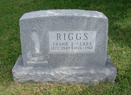 HANSEL RIGGS, CLARA - Hocking County, Ohio | CLARA HANSEL RIGGS - Ohio Gravestone Photos