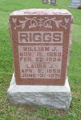 RIGGS, LAURA JANE - Hocking County, Ohio | LAURA JANE RIGGS - Ohio Gravestone Photos
