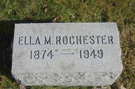 ROCHESTER, ELLA M. - Hocking County, Ohio | ELLA M. ROCHESTER - Ohio Gravestone Photos