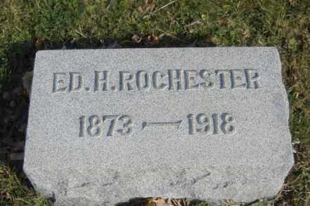 ROCHESTER, ED H. - Hocking County, Ohio | ED H. ROCHESTER - Ohio Gravestone Photos