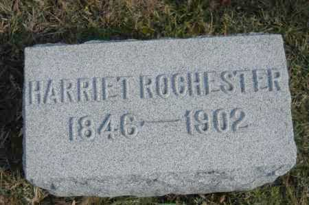 ROCHESTER, HARRIET - Hocking County, Ohio   HARRIET ROCHESTER - Ohio Gravestone Photos