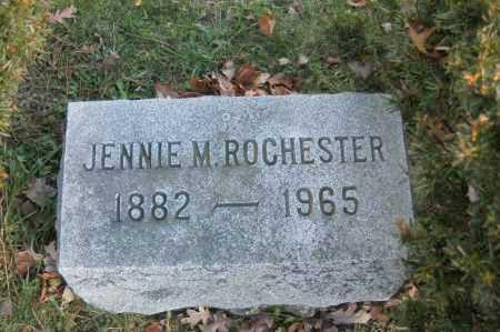 ROCHESTER, JENNIE M - Hocking County, Ohio | JENNIE M ROCHESTER - Ohio Gravestone Photos