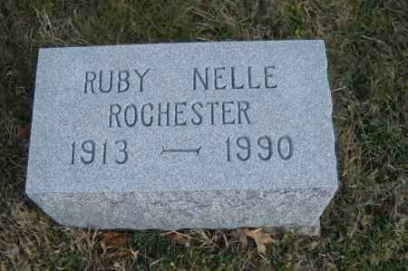 ROCHESTER, RUBY NELLE - Hocking County, Ohio | RUBY NELLE ROCHESTER - Ohio Gravestone Photos