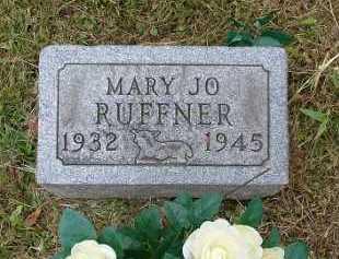 RUFFNER, MARY JO - Hocking County, Ohio | MARY JO RUFFNER - Ohio Gravestone Photos