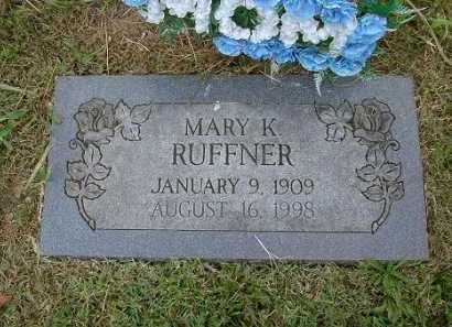 RUFFNER, MARY KATHRYN - Hocking County, Ohio | MARY KATHRYN RUFFNER - Ohio Gravestone Photos