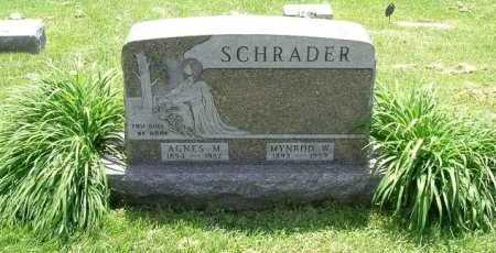 SCHRADER, MYROD WILFORD - Hocking County, Ohio | MYROD WILFORD SCHRADER - Ohio Gravestone Photos