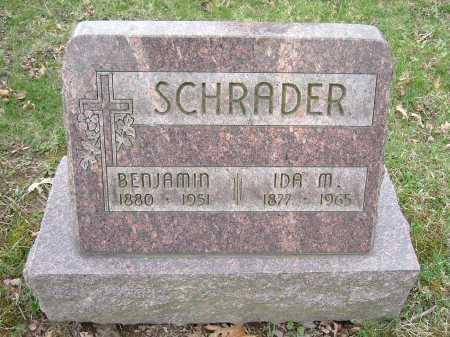 SCHRADER, IDA M. - Hocking County, Ohio | IDA M. SCHRADER - Ohio Gravestone Photos