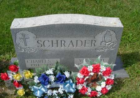 SCHRADER, CHARLES J. - Hocking County, Ohio | CHARLES J. SCHRADER - Ohio Gravestone Photos