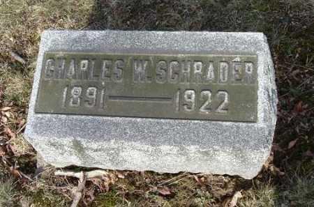SCHRADER, CHARLES W. - Hocking County, Ohio   CHARLES W. SCHRADER - Ohio Gravestone Photos