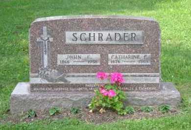 MILLER SCHRADER, CATHERINE C. - Hocking County, Ohio   CATHERINE C. MILLER SCHRADER - Ohio Gravestone Photos
