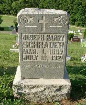 SCHRADER, JOSEPH HARRY - Hocking County, Ohio | JOSEPH HARRY SCHRADER - Ohio Gravestone Photos