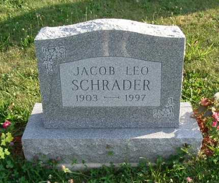 SCHRADER, JACOB LEO - Hocking County, Ohio | JACOB LEO SCHRADER - Ohio Gravestone Photos