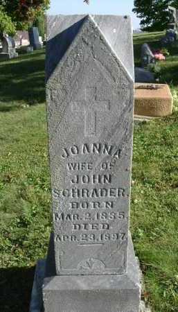 "KUNKLER SCHRADER, JOANNA ""JOANNAHE"" - Hocking County, Ohio | JOANNA ""JOANNAHE"" KUNKLER SCHRADER - Ohio Gravestone Photos"