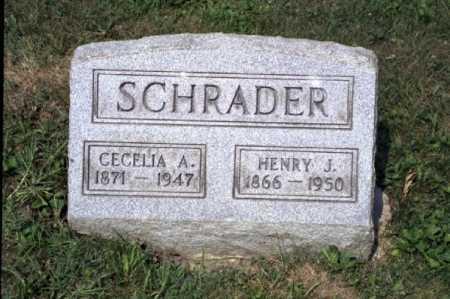 SCHRADER, CECELIA ANN - Hocking County, Ohio | CECELIA ANN SCHRADER - Ohio Gravestone Photos