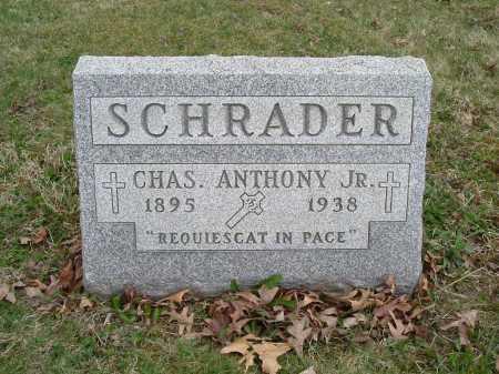 SCHRADER, JR., CHARLES ANTHONY - Hocking County, Ohio | CHARLES ANTHONY SCHRADER, JR. - Ohio Gravestone Photos