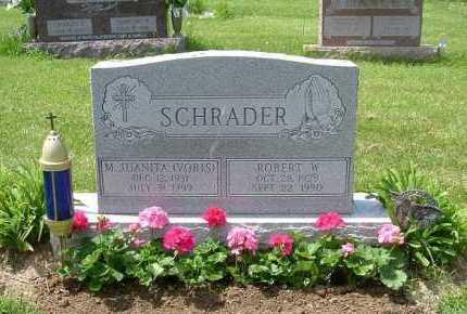 SCHRADER, MARY JUANITA - Hocking County, Ohio | MARY JUANITA SCHRADER - Ohio Gravestone Photos