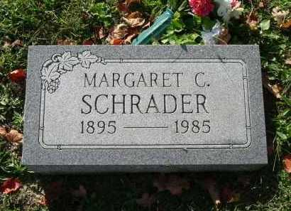 SCHRADER, MARGARET C. - Hocking County, Ohio | MARGARET C. SCHRADER - Ohio Gravestone Photos