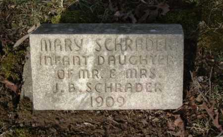 SCHRADER, MARY - Hocking County, Ohio | MARY SCHRADER - Ohio Gravestone Photos