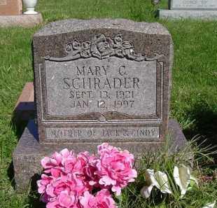 COLLISON SCHRADER, MARY VIRGINIA - Hocking County, Ohio   MARY VIRGINIA COLLISON SCHRADER - Ohio Gravestone Photos