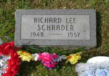 SCHRADER, RICHARD LEE - Hocking County, Ohio | RICHARD LEE SCHRADER - Ohio Gravestone Photos