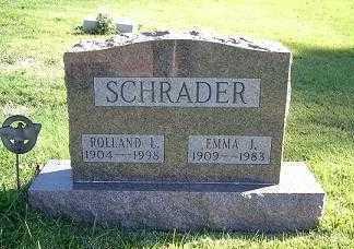 SCHRADER, ROLLAND L - Hocking County, Ohio | ROLLAND L SCHRADER - Ohio Gravestone Photos