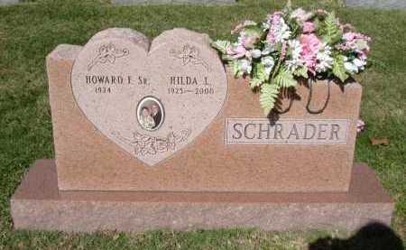 SCHRADER, SR., HOWARD F. - Hocking County, Ohio   HOWARD F. SCHRADER, SR. - Ohio Gravestone Photos