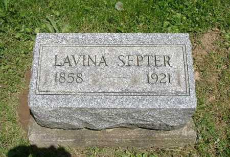 SEPTER, LAVINA - Hocking County, Ohio | LAVINA SEPTER - Ohio Gravestone Photos