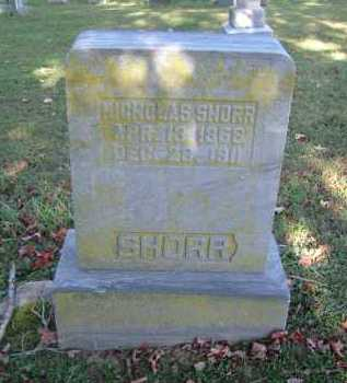 SHORR, NICHOLAS - Hocking County, Ohio | NICHOLAS SHORR - Ohio Gravestone Photos