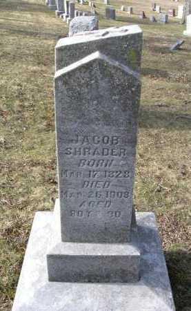 SHRADER, JACOB - Hocking County, Ohio   JACOB SHRADER - Ohio Gravestone Photos