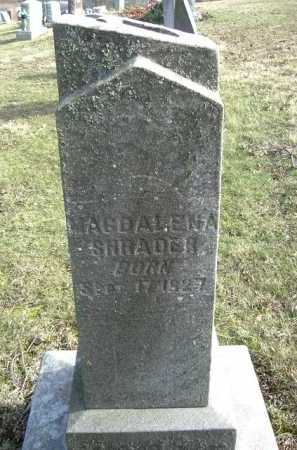 SHRADER, MAGDALENA - Hocking County, Ohio | MAGDALENA SHRADER - Ohio Gravestone Photos