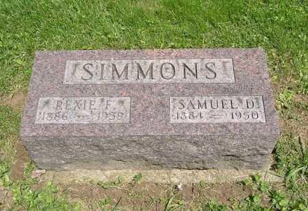 SIMMONS, REXIE F. - Hocking County, Ohio | REXIE F. SIMMONS - Ohio Gravestone Photos