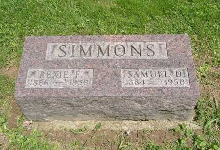SIMMONS, SAMUEL D. - Hocking County, Ohio | SAMUEL D. SIMMONS - Ohio Gravestone Photos