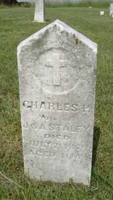 STALEY, CHARLES P. - Hocking County, Ohio | CHARLES P. STALEY - Ohio Gravestone Photos